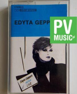 EDYTA GEPPERT RECITAL LIVE audio cassette