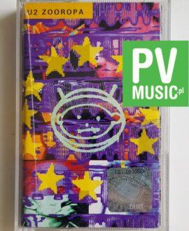 U2 ZOOROPA audio cassette