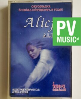 ALICE ALICJA SOUNDTRACK audio cassette