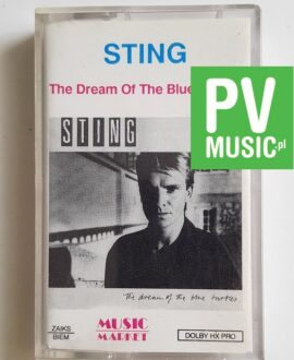 STING THE DREAM OF THE BLUE TURTLES audio cassette