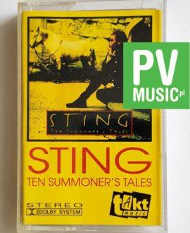 STING TEN SUMMONER'S TALES audio cassette