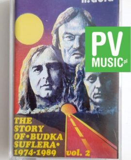 BUDKA SUFLERA THE STORY OF 1974-1989 VOL.2 audio cassette