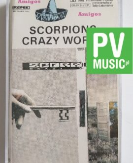 SCORPIONS CRAZY WORLD audio cassette