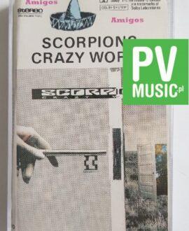 SCORPIONS CRAZY WORLD audio cassette