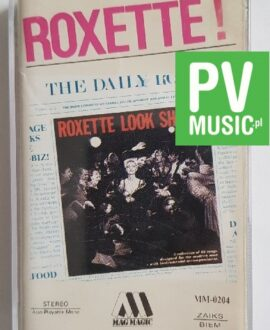 ROXETTE LOOK SHARP audio cassette