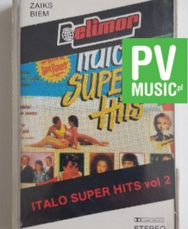 ITALO SUPER HITS vol.2 E.RAMAZZOTTI, DRUPI.. audio cassete