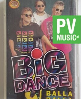 BIG DANCE BALLA BALLA audio cassette