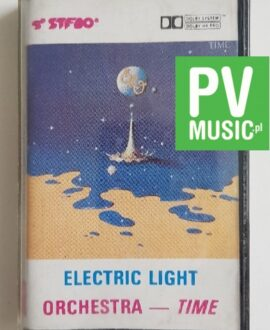 ELECTRIC LIGHT ORCHESTRA TIME audio cassette