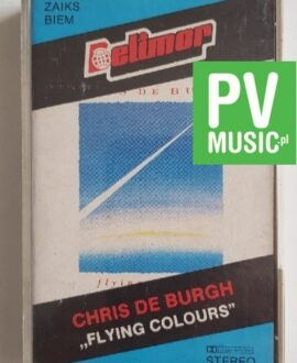 CHRIS DE BURGH FLYING COLOURS audio cassette