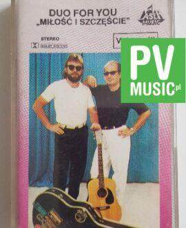 DUO FOR YOU MIŁOŚĆ I SZCZĘŚCIE audio cassette