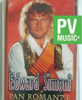 EDWARD SIMONI PAN ROMANZE audio cassette
