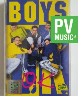 BOYS O.K. audio cassette