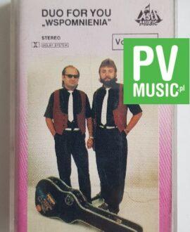 DUO FOR YOU WSPOMNIENIA audio cassette