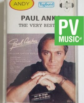 PAUL ANKA THE VERY BEST OF audio cassette