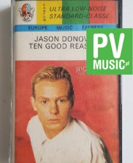 JASON DONOVAN THE GOOD REASONS audio cassette