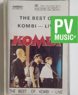 KOMBI THE BEST OF KOMBI LIVE audio cassette