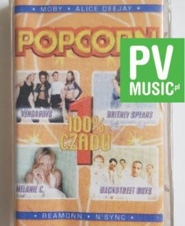 POPCORN BACKSTREET BOYS, BRITNEY SPEARS audio cassette