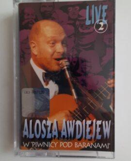 ALOSZA AWDIEJEW W PIWNICY POD BARANAMI audio cassette