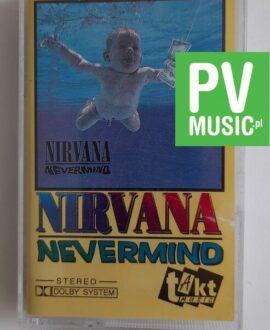 NIRVANA NEVERMIND audio cassette