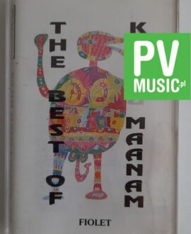 KORA & MAANAM THE BEST OF FIOLET audio cassette