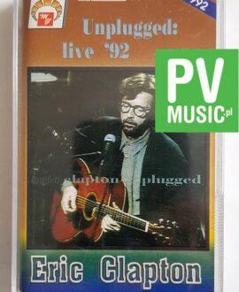 ERIC CLAPTON UNPLUGGED LIVE '92 audio cassette
