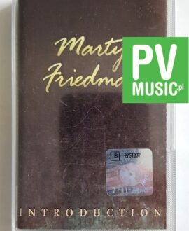 MARTY FRIEDMAN INTRODUCTION audio cassette