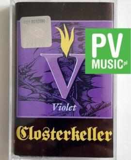 CLOSTERKELLER VIOLET audio cassette