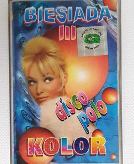 KOLOR BIESIADA III DISCO POLO audio cassette