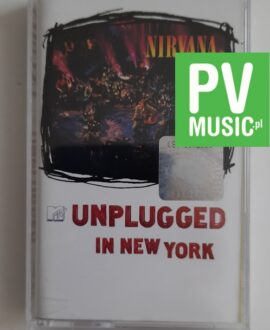 NIRVANA UNPLUGGED IN NEW YORK audio cassette