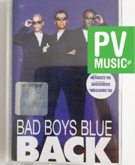 BAD BOYS BLUE BACK audio cassette