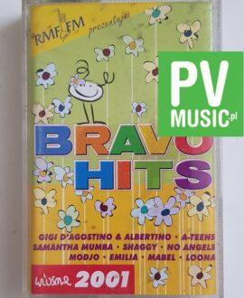 BRAVO HITS 2001 GIGI D'AGOSTINO, A-TEENS.. audio cassette