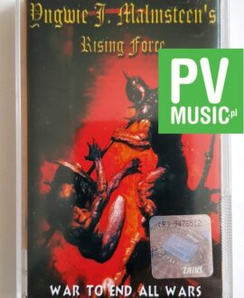YNGWIE J.MALMSTEEN'S WAR TO END ALL WARS audio cassette