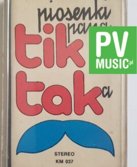 PIOSENKI PANA TIK-TAKa TIK-TAK audio cassette