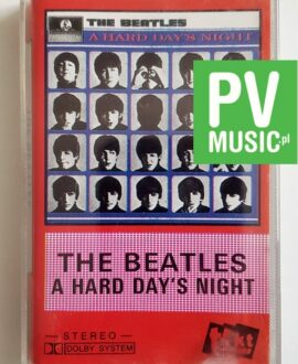 THE BEATLES A HARD DAY'S NIGHT audio cassette
