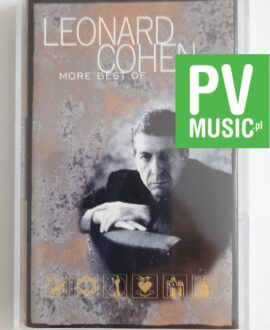LEONARD COHEN MORE BEST OF audio cassette