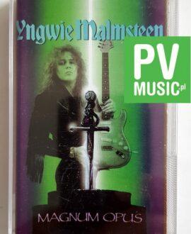 YNGWIE MALMSTEEN MAGNUM OPUS audio cassette