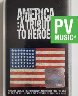 AMERICA: TRIBUTE TO HEROES BRUCE SPRINGSTEEN, NEIL YOUNG.. audio cassette