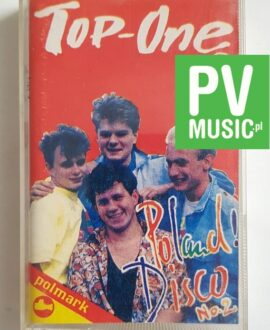 TOP ONE POLAND DISCO No.2 audio cassette