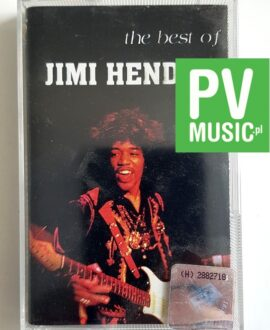JIMI HENDRIX THE BEST OF audio cassette