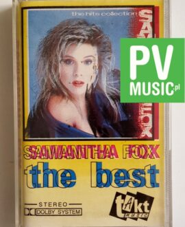 SAMANTHA FOX THE BEST audio cassette