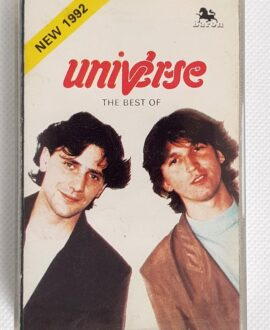 UNIVERSE THE BEST OF audio cassette