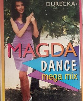 MAGDA DURECKA DANCE MEGA MIX audio cassette