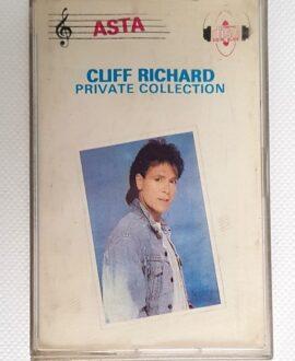 CLIFF RICHARD PRIVATE COLLECTION audio cassette
