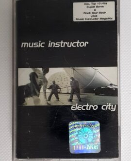 MUSIC INSTRUCTOR ELECTRO CITY audio cassette