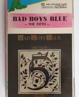 BAD BOYS BLUE THE FIFTH audio cassette