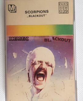 SCORPIONS BLACKOUT audio cassette