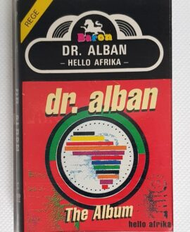 DR ALBAN HELLO AFRICA audio cassette