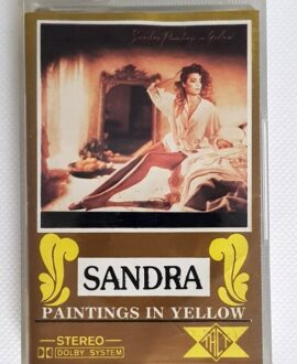 SANDRA PAINTINGS IN YELLOW audio cassette