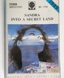 SANDRA INTO A SECRET LAND audio cassette