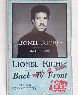 LIONEL RICHIE BACK TO FRONT audio cassette
